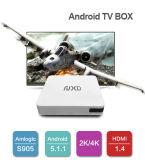 (Amlogic S905) Vierradantriebwagen-Kern X8 Arm Cortex-A53 androider Fernsehapparat-Kasten