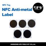 Escritura de la etiqueta del Anti-Metal ISO14443A Nfc RFID del Hf Ntag203