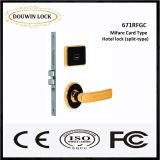 Drahtloser Tür-Karten-Verschluss mit Verschluss-Zylinder (671RFSC)
