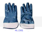 Nitrile Eingetauchter Handschuh für das chemische Aufbereiten