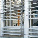 Lumbrera de la cortina de la aleación de aluminio con el precio de fábrica para el uso exterior