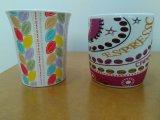 Tazón de fuente de cerámica japonés de los tallarines del gres del esmalte del servicio de mesa