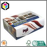 Caixa de empacotamento de papel do cartão do logotipo da folha de prata para cosméticos