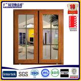 Окно алюминия и Casement качания двери с лезвиями