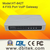 VoIP Ata com 4FXS Portas a interface com os telefones PSTN (HT-842R)