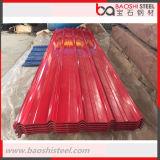 Hoja del material para techos/azulejos de material para techos acanalados prepintados galvanizados