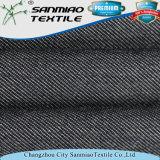 Tela de Jean del dril de algodón del Knit de la tela cruzada de Changzhou con Spandex del algodón