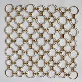 装飾的なチェーン・メールワイヤーリングの網