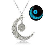 Incandescenza Pendant della collana della luna luminosa magica nel regalo d'ardore scuro dei monili di DIY