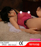 jouet adulte de sexe de poupée d'amour de poupée réaliste de silicones de 158cm