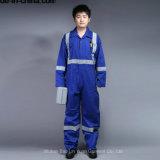 BaumwolleProban flammhemmende Sicherheits-Overall-Uniform 100% mit reflektierendem Band