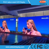 Farbenreicher Miet-Innenbildschirm LED-P4.81 für das Bekanntmachen