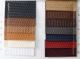 袋(H256)のための最も新しい流行の編まれたPU PVC総合的な革