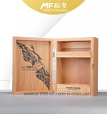 Retro Disassemble Rechteck MDF Holz Starre Wine Box