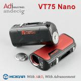 Neues Produkt Hcigar Vt75 Nano mit einem einzelnen 18650 Batterie heißen verkaufendna MOD