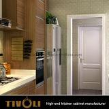 호화스러운 디자인 흑단 베니어 고품질 부엌 찬장 Tivo-0044V