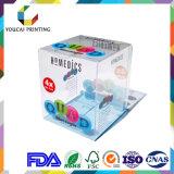 Оптовая романтичная прозрачная коробка PVC упаковывая для подарка дня Valentine