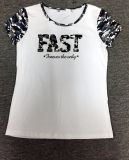 Kundenspezifisches Mann-Form-Großhandelst-Shirt mit Firmenzeichen