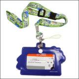 Подгонянный талреп держателя вьюрка значка карточки студента колледжа Name/ID изготовленный на заказ (NLC024)