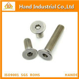 M10 Cold Forged DIN7991 Csk Head Hex Socket Screws