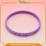 Wristband impermeável personalizado do silicone