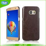 Geval van de Telefoon van het Leer van de Prijs van de fabriek het Mobiele voor de Rand van Samsung S7