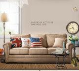 Sofá americano da tela do estilo de país para o uso Home (M3001)