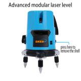 Nível da caixa do laser