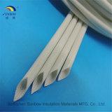 De Glasvezel Gevlechte Hars van uitstekende kwaliteit van het Silicone van Buizen Sleevings/