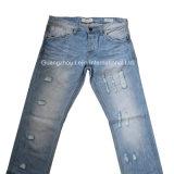 デニムのジーンズのズボンの粉砕機またはジーンズの粉砕は機械を破壊する