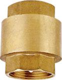 La vávula de bola horizontal de cobre amarillo del oscilación de la calidad