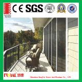 Porte coulissante en aluminium/porte de patio/porte en aluminium de patio