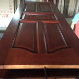 Porte en bois de ménage peignant la porte extérieure en bois solide (XS2-025)