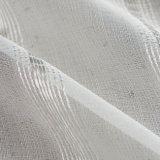 Tela escarpada de la cortina de la gasa sólida decorativa casera de la materia textil