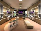 Madame chaussures de mode et étalage de crémaillère d'étalage de gaines/meubles gîtés élevés, modèle de système de chaussure de femme