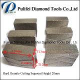 Segmento del diamante della pietra della lamierina dello spazio in bianco della saldatura dell'argento dello strumento della taglierina del cerchio
