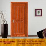 Прокатанная таможней дверь панели MDF деревянная (GSP8-013)