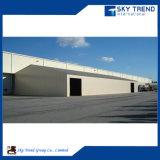 I materiali da costruzione della costruzione poco costosa progettano il magazzino prefabbricato della struttura d'acciaio