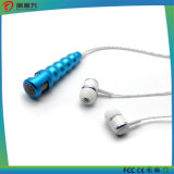 Fashion 3.5mm Mini Microphone Stereo Mic with Earphone for mobile Phone