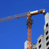 10ton Turmkran-flache Oberseite-Turmkran-Aufbau-Maschinerie