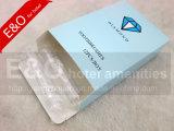 Tandenborstel van de Luchtvaartlijn van Transaprent de Vouwbare met het Pakket van de Doos