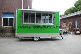 Schiebendes Glasfenster-mobiler Nahrungsmittelschlußteil
