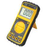 Medição de multímetro portátil digital elétrico para medidor de energia