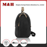 Multi-Pocketed Black Leisure Leisure Chest Bag