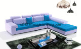 Sofá seccional de la sala de estar popular superventas del diseño moderno (UL-NS456)