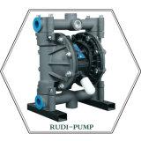 Pompe à diaphragme en aluminium environnementale d'air