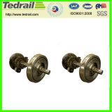 鋳造物のステンレス鋼の車輪セット