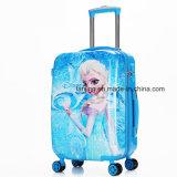 New Frozen Elsa & Anna Kid Rolling Bagagem Travel Suitcase