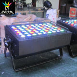 54X3w RGBW 실내 단계 극장 LED 동위 깡통