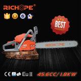 45.6cc tronçonneuse professionnelle chinoise CS4610